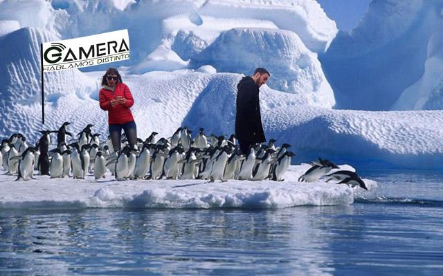 Acá no más está la Antártida