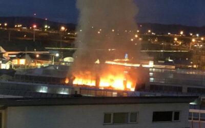 El incendio del hospital en una sociedad quemada